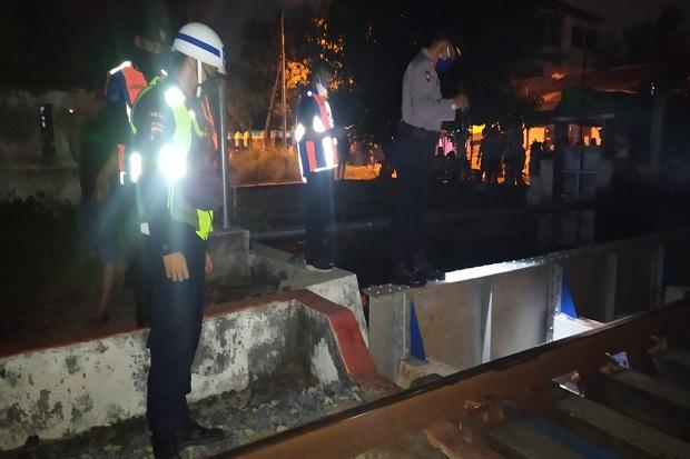 Pejalan Kaki di Semarang Tewas Disambar Kereta Api Barang