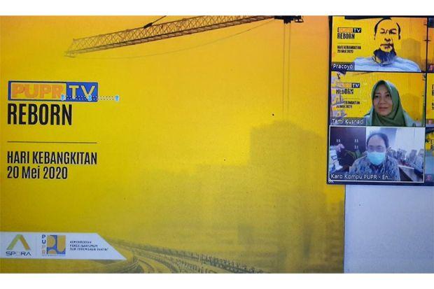Reborn, Siaran PUPR TV Mengudara di Kanal Resmi KemenPU
