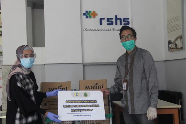 PTPN VIII Bantu Pemda Atasi COVID-19, Serahkan Masker hingga Teh Kesehatan