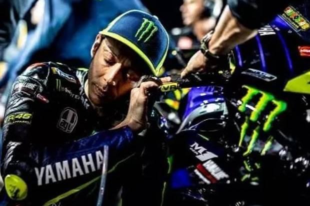 Pisah dengan Yamaha di Masa Sulit, Valentino Rossi Bersedih