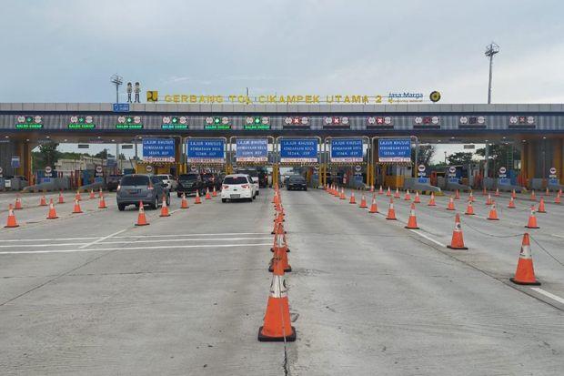 Pandemi Covid-19, 367 Ribu Kendaraan Tinggalkan Ibu Kota via Jalan Tol