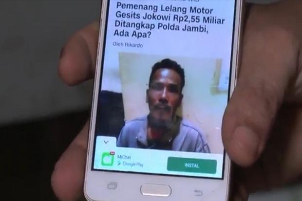Ini Ternyata Sosok M Nuh Yang Menang Lelang Motor Listrik Jokowi