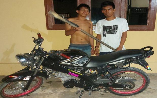2 Pemuda asal Labuhanbatu Dibekuk Polisi karena Curi Perhiasan Emas