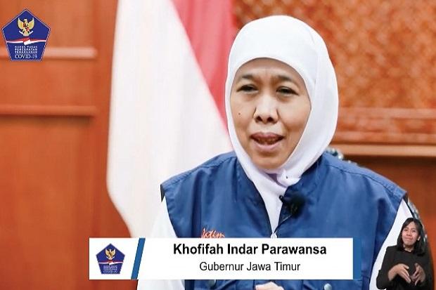 Positif COVID-19 di Jatim Naik, Khofifah Minta Jangan Mudik