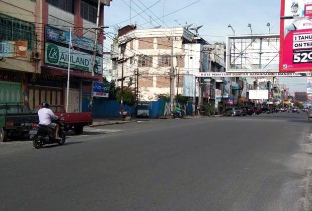 Lebaran Pertama Kota Pematangsiantar Sepi