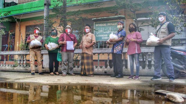 Cerita Umat Katolik Beri Bantuan Ponpes di Tengah Pandemi COVID-19