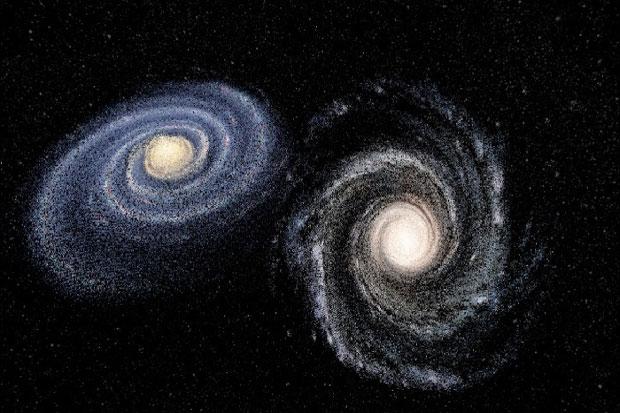 Peneliti Menemukan Galaksi Baru yang Mirip dengan Bima Sakti