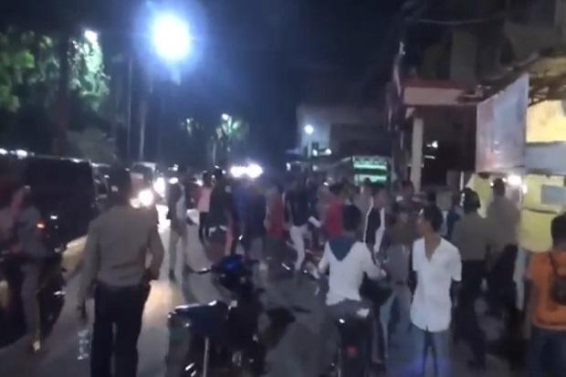 Cemburu Pasangannya di Hotel dengan Pria Lain, Sekelompok Pemuda di Medan Bentrok