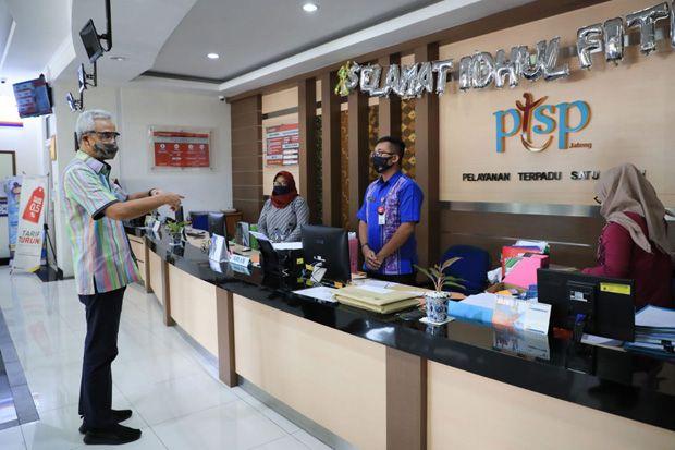 Kantor Pajak dan Perizinan di Jateng Mulai Terapkan New Normal