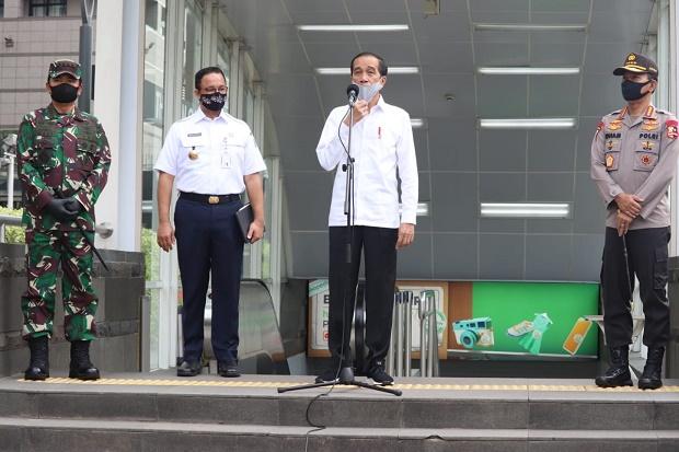 Tinjau Persiapan Penerapan Prosedur New Normal, Panglima TNI Dampingi Jokowi