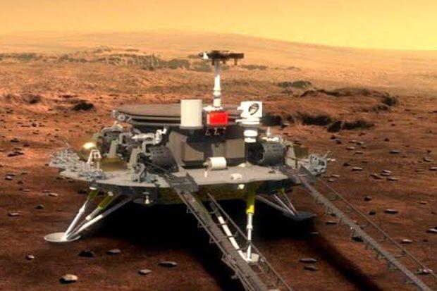 China Tetap Berambisi Jalankan Misi Terbang ke Mars di Bulan Juli