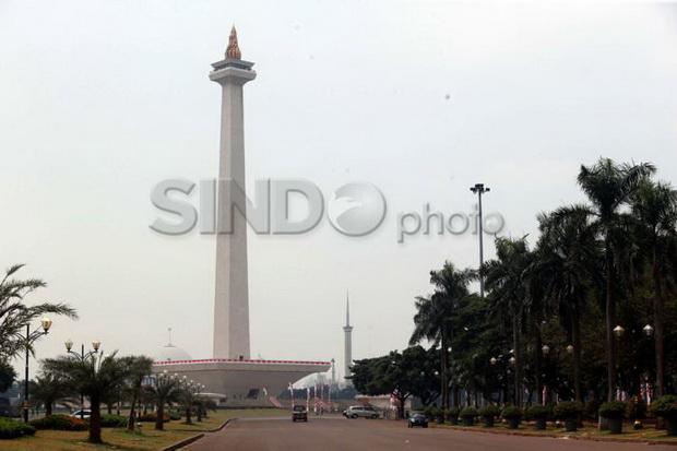 Mayoritas Berawan, Hanya Dua Wilayah di Jakarta Ini Diprediksi Hujan