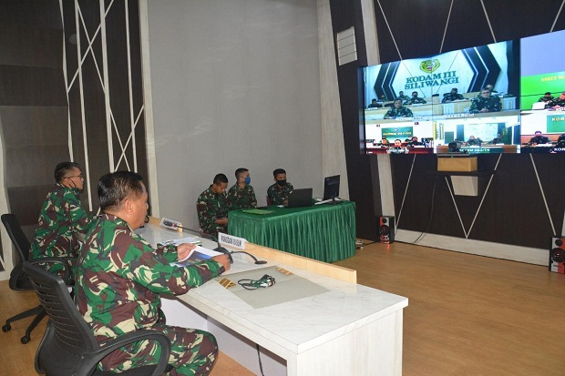 Pangdam Instruksikan Korem-Kodim Kawal Tatanan Normal Baru di Jabar dan Banten