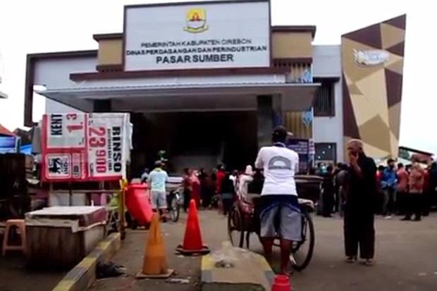 Dua Pedagang Positif COVID-19, Pemkab Cirebon Tutup Pasar Sumber