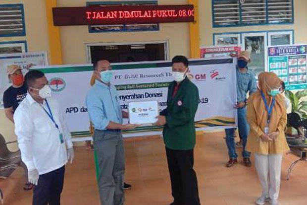 Rumah Sakit di Bone Bolango Terima APD dari PT Gorontalo Mineral