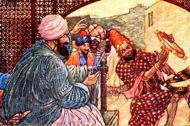 Baginda Sultan dan Para Menteri Bertelur, Abu Nawas Berkokok