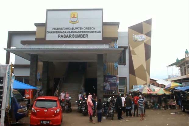 Dua Pedagang Positif Corona, Pasar Sumber Cirebon Ditutup Dua Pekan