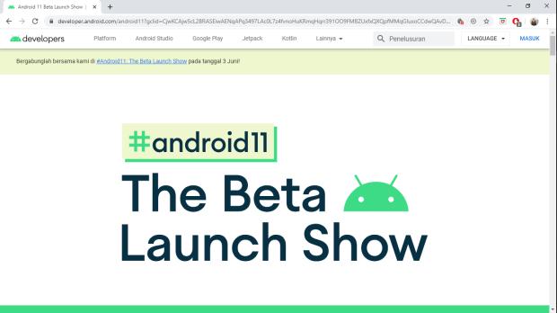 Peluncuran Android 11 Beta Bakal Digelar Virtual Pekan Depan