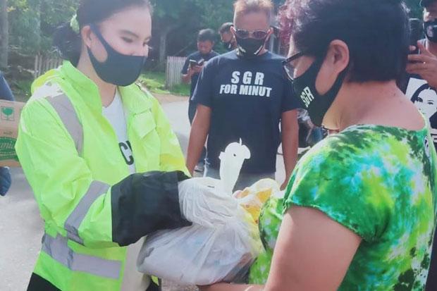 Pandemi Corona, SGR Salurkan Bantuan kepada Masyarakat Dimembe