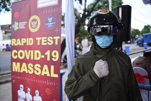 Hari Ketiga, BIN Gelar Rapid dan Swab Test Massal di Dua Zona Merah di Surabaya