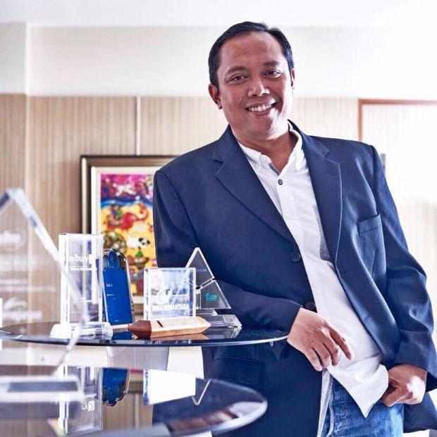 Bos Marketing Erajaya Djatmiko Wardoyo Tutup Usia