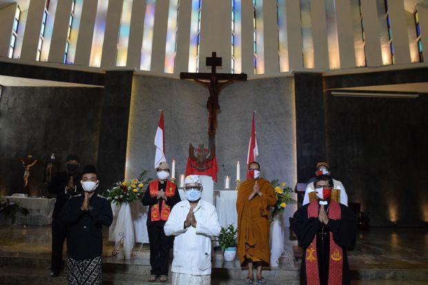 Harlah Pancasila, Tokoh Lintas Agama Semarang Doakan Corona Cepat Sirna