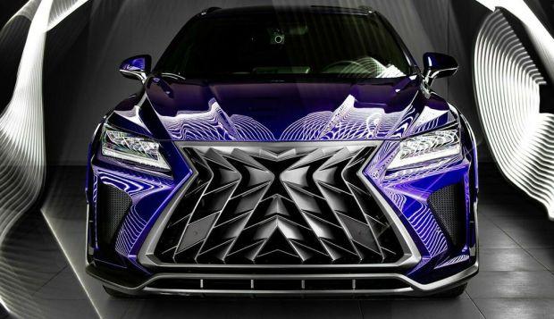 Masuk Rusia, Lexus RX Dikuliti Jadi Super Keren Melebihi Buatan Pabrik