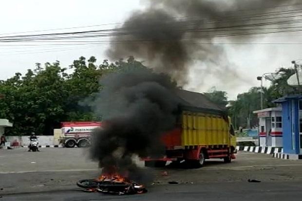 Kecelakaan di Jalur Maut Madiun, 1 Pemotor Tewas Terseret Truk