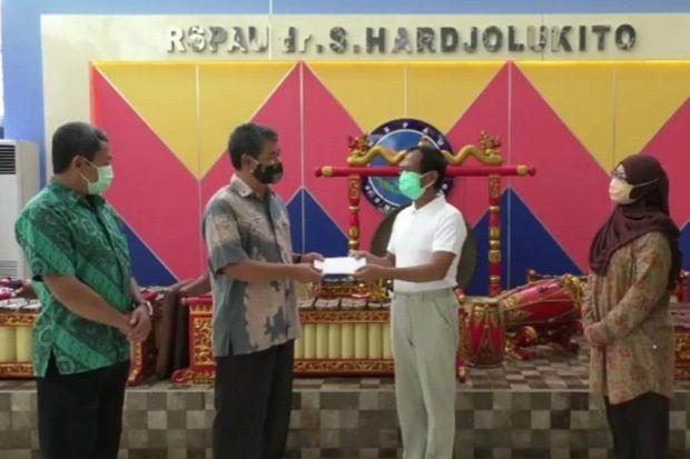 76 Hari Dirawat di Hardjolukito, Warga Bantul Sembuh dari Corona