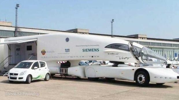 Inilah Truk Masa Depan dengan Desain Serupa Jet Tempur