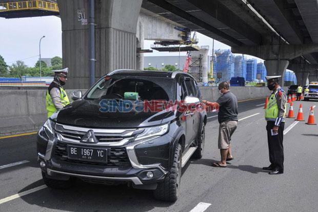 Tak Ada SIKM, 21 Ribu Kendaraan Ditolak Masuk Jakarta