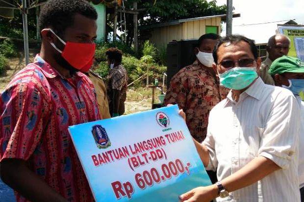 BLT Mulai Disalurkan, Imbauan Berkebun Tetap Digaungkan di Jayapura