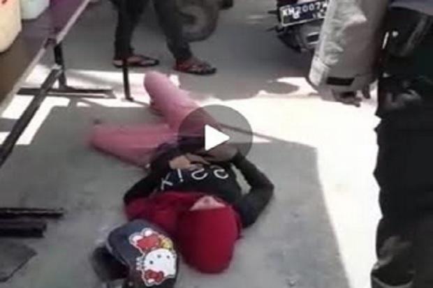 Geger, Wanita Tergeletak di kawasan Pasar Indrasari Pangkalan Bun