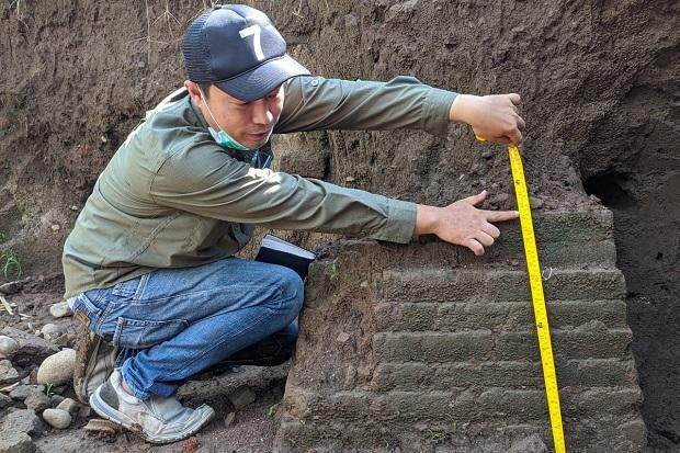 Pemukiman Kesatria Majapahit Terkubur Tanah Sedalam 1 Meter