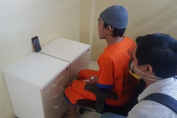 Pandemi COVID-19, BNN Surabaya Limpahkan Tersangka Secara Daring