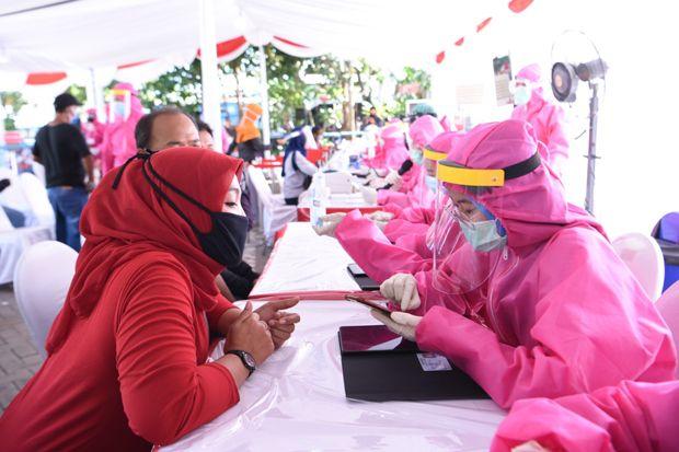 Rapid Test BIN di Surabaya dan Sidoarjo, 175 Orang Reaktif