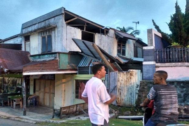 Gempa Sesar Besar Sumatera, Rumah Warga Alami Kerusakan