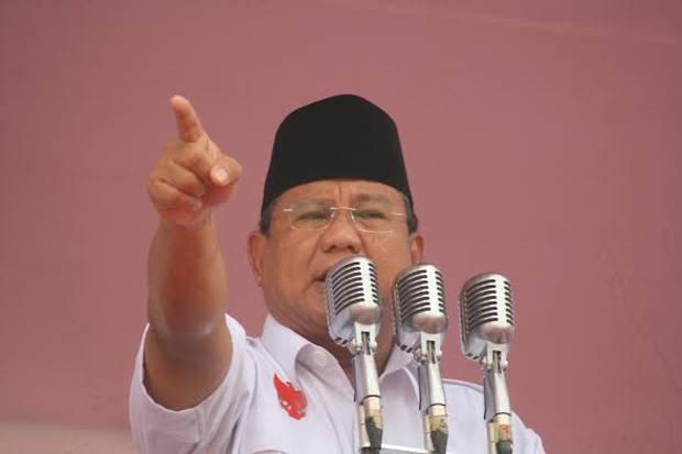 Sah, Prabowo Subianto Ketua Umum Partai Gerindra 2020-2025