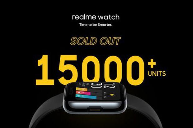 Dua Menit, 15.000 realme Watch Ludes Diserbu Pembeli
