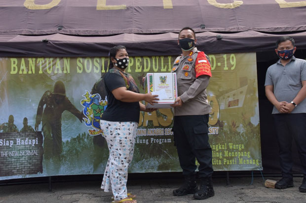 Peduli Covid-19, Base 99 Gelar Bakti Peduli di Jakarta Timur