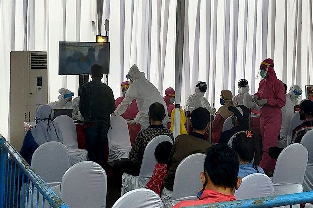 824 Ikut Rapid Test, 117 Reaktif, 50 Menginap di Asrama Haji