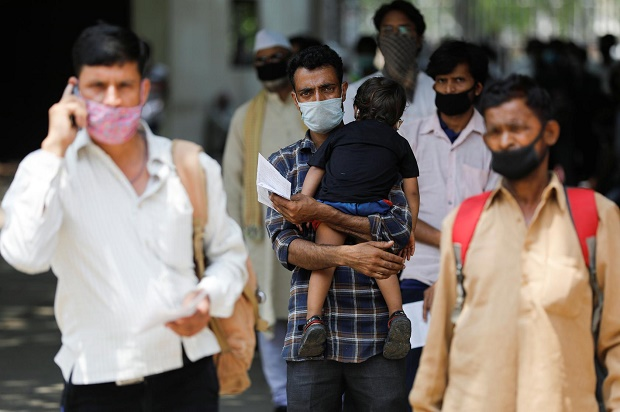 Jelang Pelonggaran Lockdown di India, 9.887 Kasus Baru Covid-19 dalam Waktu 24 Jam