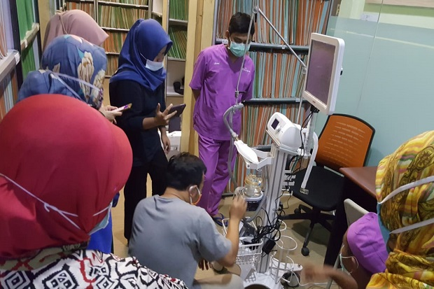 Emil Apresiasi Bantuan Ventilator untuk RS Bhayangkara di Jatim