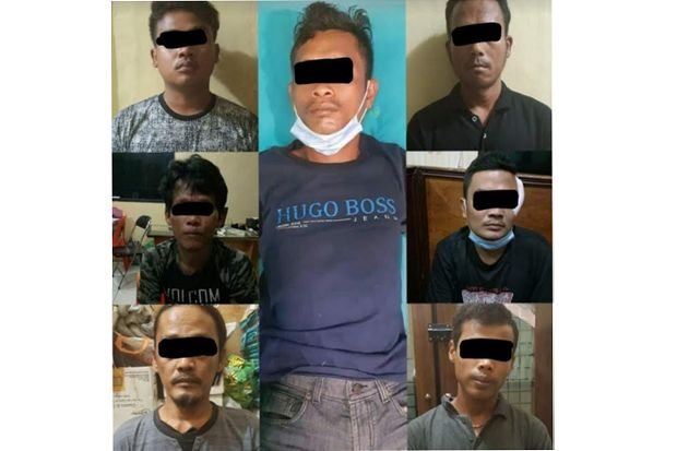 7 Pelaku Pengeroyokan Petani di Lapo Tuak Dibekuk Polresta Deliserdang