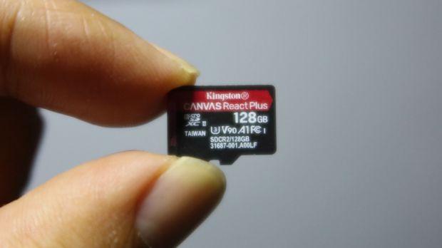 Kingston Canvas React Plus 128 GB, Kartu Memori untuk Videografer dan Pilot Drone