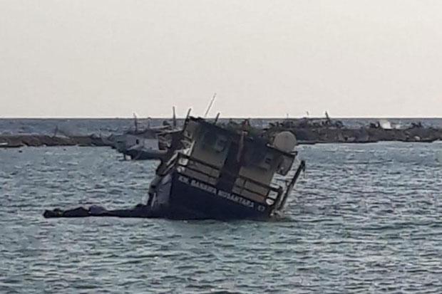 Belum Digunakan, Kapal Hibah Kemenhub Rusak dan Tenggelam