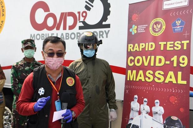 Gerilya BIN di Surabaya, 651 Warga Diketahui Positif COVID-19 lewat Swab Test