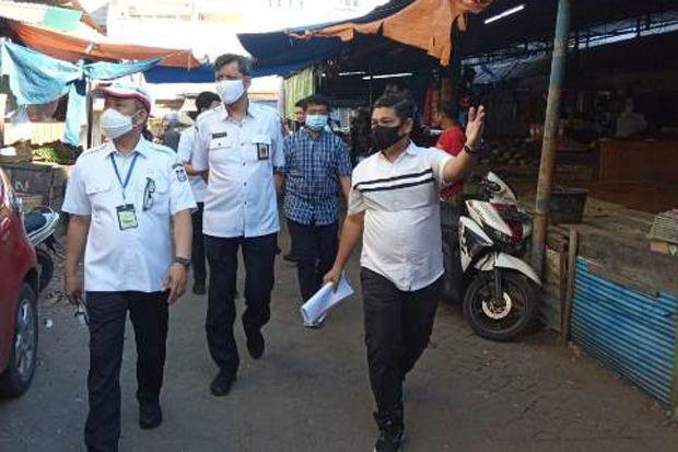 Pantau Protokol Kesehatan, Yusran Jusuf Sidak Pasar Terong Makassar