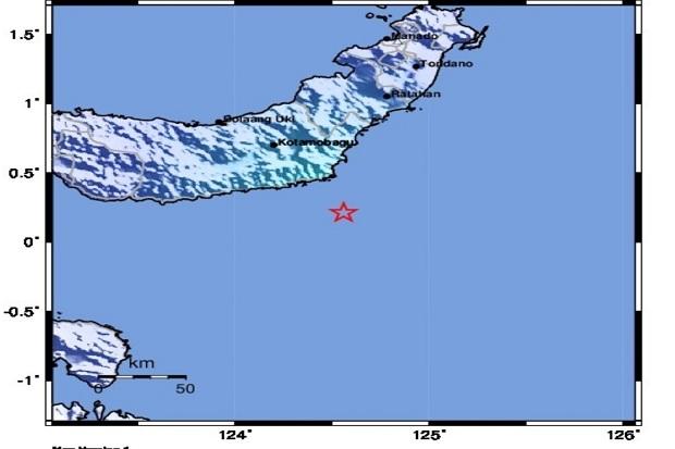 Gempa Magnetudo 4,5 Guncang Bolaang Mongondow Timur, Tidak Berpotensi Tsunami