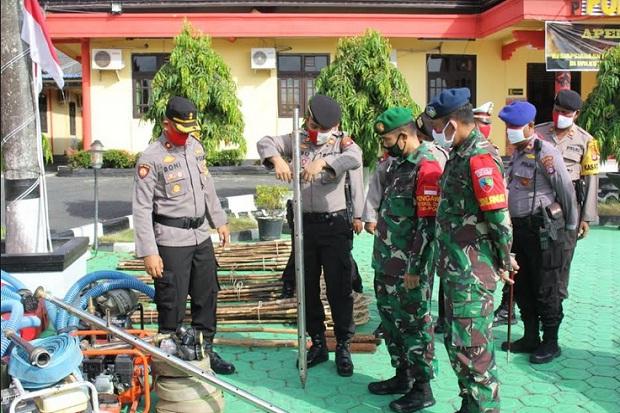 Waspada Karhutla, Peralatan Pemadam di Kotawaringin Barat Dicek Ulang